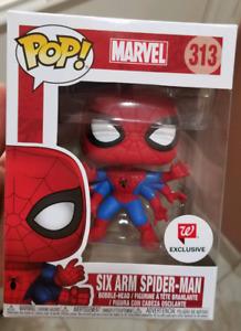 Funko six arm spiderman