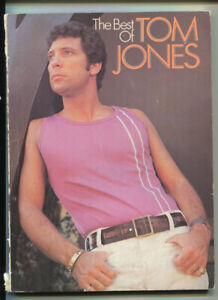 MUSIC BOOK * THE BEST OF TOM JONES * SOFTCOVER* USED