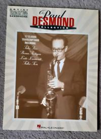 Paul Desmond Collection - 17 Transcriptions