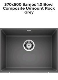 Rock Grey Undermount Composite Sink...brand new in box