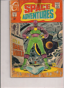Space Adventures #8 - Charlton - 1969