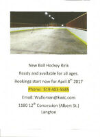 Ball Hockey Rink