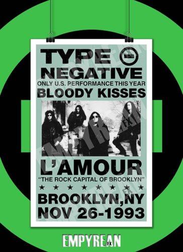 Type O Negative BLOODY KISSES LIVE L