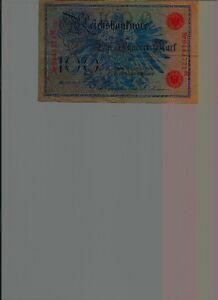 100 REICHSBANKNOTE FEBRUAR 1908