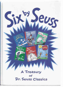 Six By Seuss sTreasury of Dr Seuss Classics with Grinch Bookend