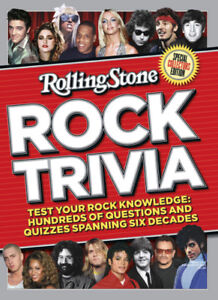 2 ROCK MUSIC TRIVIA collectible books (only $5 each)