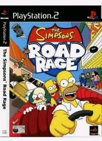 Simpsons Road Rage (Sony PlayStation 2, 2001) PS2 Video Game