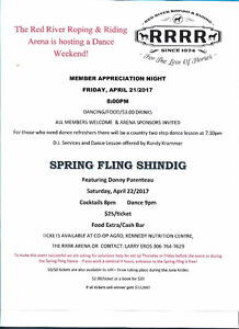 Red River Roping & Riding Arena Dance Weekend