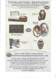 LARGEST SUPPLIER OF CREMATION URNS & FUNERAL PRODUCTS Yellowknife Northwest Territories image 9