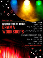 Youth Drama Workshops- Introductions to Acting