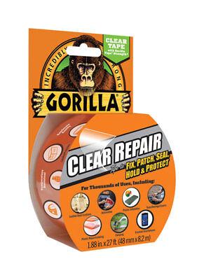 Gorilla Clear Repair Tape 1.88 In X 27 Ft Clear Tape