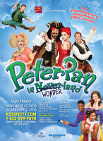 """Ross Petty's """"Peter Pan"""" at the Elgin Theatre on Wed Dec 2 @ 7pm"""