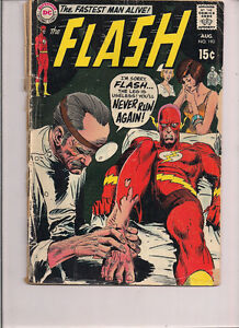 The Flash #190 - DC - 1969