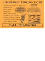 Affordable Tutoring Center ( Female Tutor) Summer Special