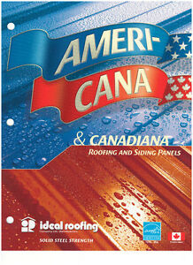 Apex Metal Solutions Americana & Canadiana  Steel Roofing Panels