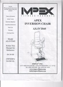 Inversion Chair by IMPEX Oakville / Halton Region Toronto (GTA) image 1