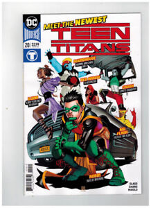 Teen Titans #20 1st Appearance of Crush ... Willing to Ship