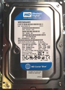 HARD DRIVES – USED - TESTED