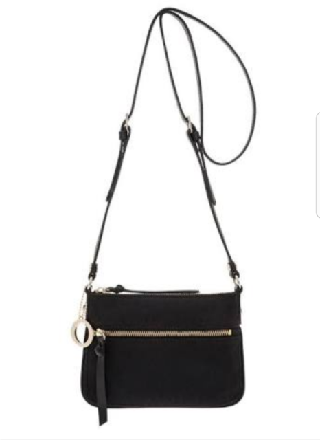 208027aab16d New OROTON Handbag Mini Across Body Bag Leather Canvas RRP ...