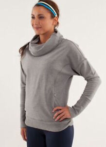 Lululemon grey rest day pullover