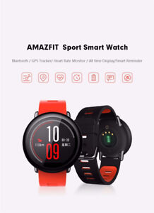 Huami Amazfit Smart Sports Watch Real time GPS 1.34 inch Screen