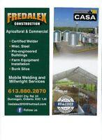 Millright & Concrete former/labour position available