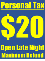Efile Tax Services, Open Late Night