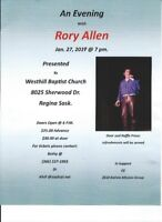 An Evening with Rory Allen