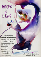 Dancing 4 A-Paws - Recital and Fundraiser