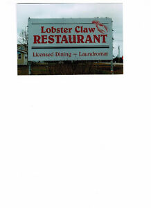 Lobster Claw Restaurant in Brackley Beach for Sale
