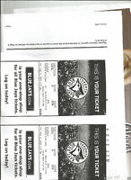 blue jay tickets - premium dug out section 123