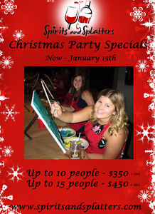 HOLIDAY STAFF OR CLIENT PAINT PARTY Kawartha Lakes Peterborough Area image 1