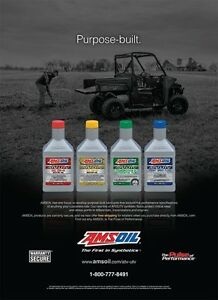 Amsoil Synthetic Oil for ATV's Belleville Belleville Area image 4