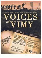 VOICES OF VIMY