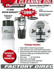 DYNOVAC CENTRAL VACUUM SYSTEMS MADE IN RED DEER