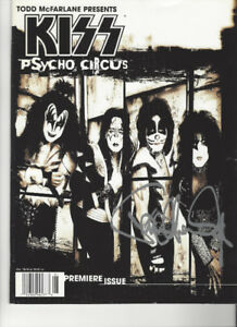 Kiss Psycho Circus #1 Comic Book Signed by Paul Stanley