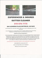 EXPERIENCED & INSURED GUTTER CLEANER,YARD CLEANUP & SNOW REMOVAL
