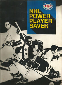 1970-71 ESSO POWER PLAYER ALBUM AND CARDS WANTED