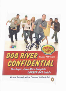 Dog River Confidential Guide -Brent Butt signed