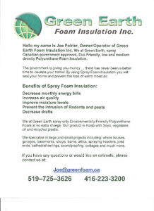 Spray Foam Inulation Kitchener / Waterloo Kitchener Area image 1