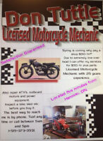 ATV, SNOWMOBILE & MOTORCYCLE REPAIRS