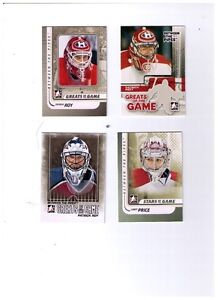 In The Game Hockey Base Sets