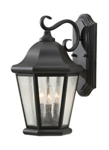 Murray Feiss Outdoor Black Wall Light OL5902BK