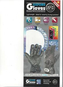 OXFORD - BONE DRY Gloves - All Sizes - NEW at RE-GEAR Kingston Kingston Area image 2