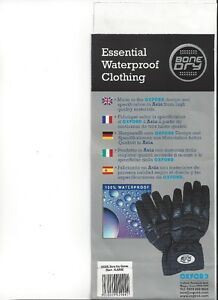 OXFORD - BONE DRY Gloves - All Sizes - NEW at RE-GEAR Kingston Kingston Area image 6