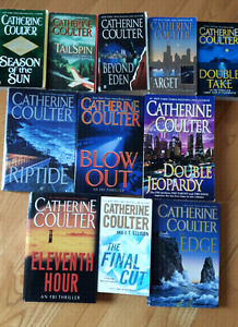 11 Catherine Coulter Novels