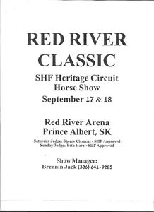 RED RIVER CLASSIC HORSE SHOW