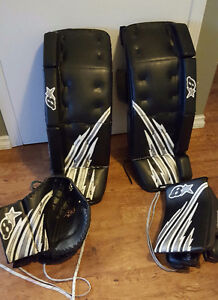 "Brian's 31+1"" Goalie Pads/Glove/Blocker"