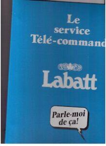 15 cartables Brasserie Labatt
