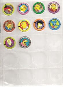 Complete Set of Homer Simpson Pogs - RARE 1-50 West Island Greater Montréal image 3